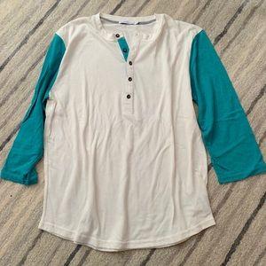 Alternative apparel 3/4 sleeve men's